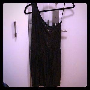 Tart One Shoulder Sequin Dress